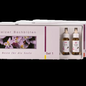 Bachblüten-set-Blütenessenzen